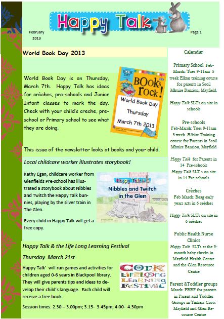 newsletter feb 2013